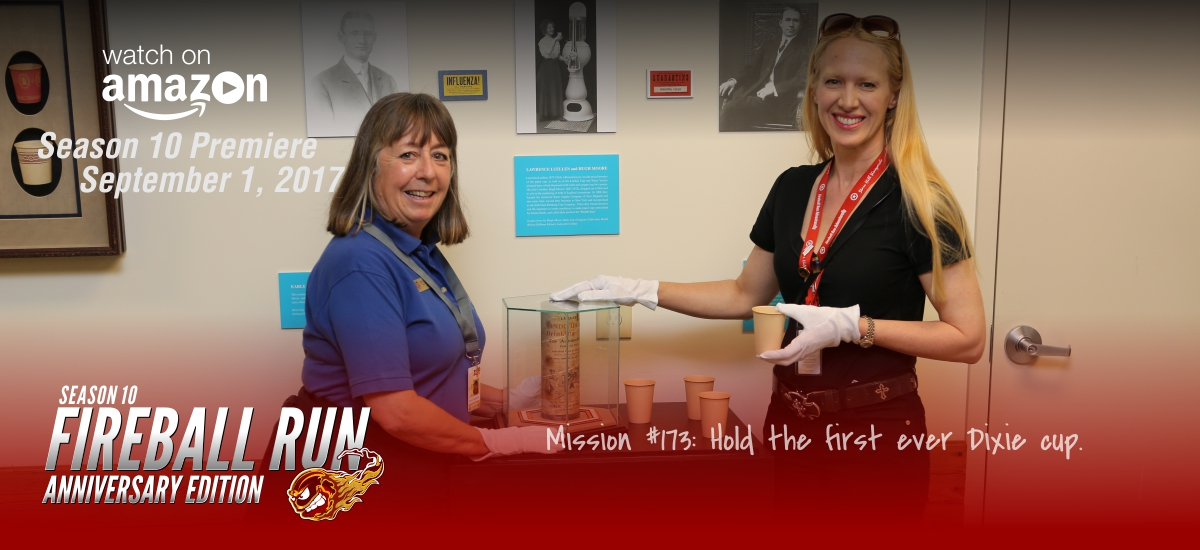 Mission 173: Hold the first ever Dixie Cup