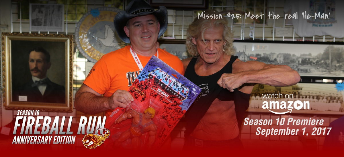"Mission 25: Meet the real ""He-Man"""
